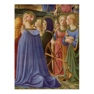 Fra Angelico Art Postcard
