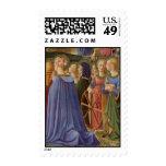 Fra Angelico Art Stamp