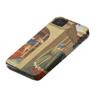 Fra Angelico- Birth of St. Nicholas iPhone 4 Covers