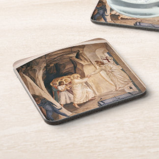 Fra Angelico- Christ in Limbo Coaster