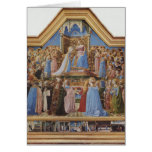 Fra Angelico- Coronation of the Virgin Greeting Card
