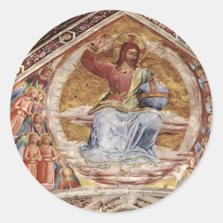 Fra Angelico- Cristo el juez Etiquetas