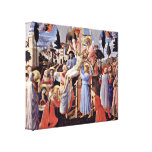 Fra Angelico - Cross Stretched Canvas Prints