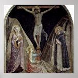 Fra Angelico - crucifixión Poster