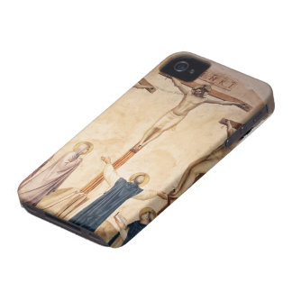 Fra Angelico- Crucifixion with Mourners iPhone 4 Case