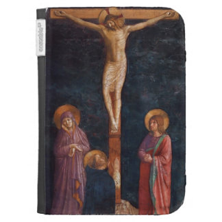 Fra Angelico- Crucifixion with St. Dominic Kindle Case
