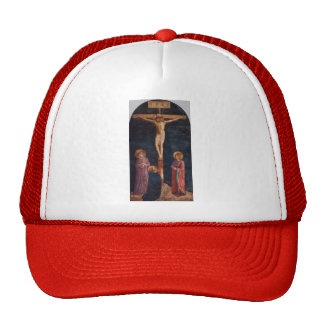 Fra Angelico- Crucifixion with St. Dominic Trucker Hat