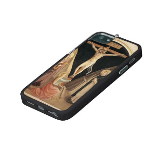 Fra Angelico- Crucifixion with the Virgin iPhone 5/5S Covers