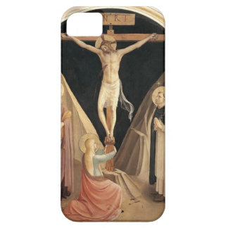 Fra Angelico- Crucifixion with the Virgin iPhone 5 Covers