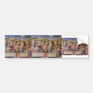 Fra Angelico- Death of the Virgin Car Bumper Sticker