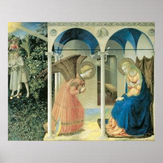 Fra Angelico - el poster del anuncio Póster