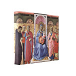 Fra Angelico - Enthroned Virgin and Child Gallery Wrapped Canvas