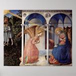 Fra Angelico - escena: Anuncio Poster