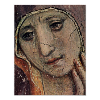 Fra Angelico Face of Mary Poster