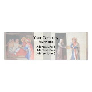 Fra Angelico- la cura de Palladia Plantilla De Tarjeta De Negocio