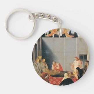 Fra Angelico- la muerte del santo Llaveros
