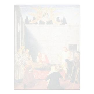 Fra Angelico- la muerte del santo Membrete
