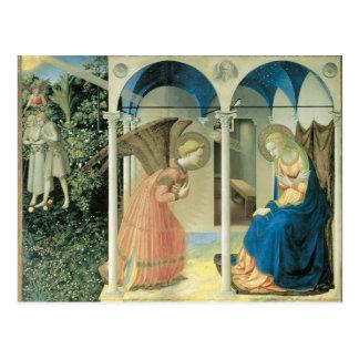 Fra Angelico - la postal del anuncio