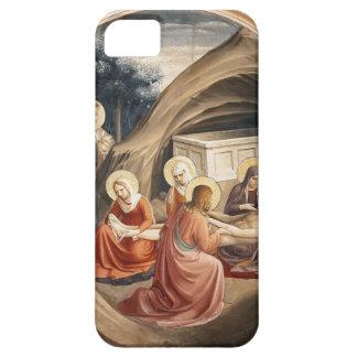 Fra Angelico- Lamentation over Christ iPhone 5 Cover