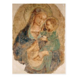 Fra Angelico- Madonna and Child Postcard