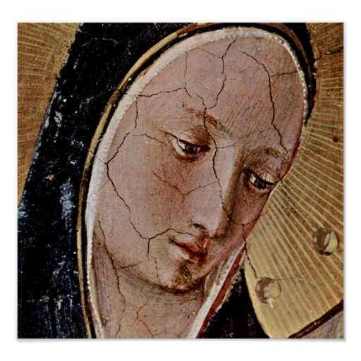 Fra Angelico - Maria Poster