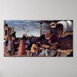 Fra Angelico - rescate a los marineros Impresiones