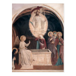Fra Angelico-Resurrection of Christ,Women at Tomb Post Cards