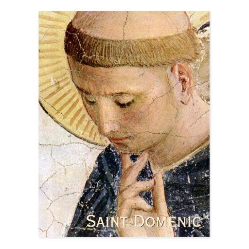 Fra Angelico Saint Dominic CC0682 Postcard