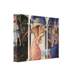 Fra Angelico - Scene: Annunciation Stretched Canvas Prints