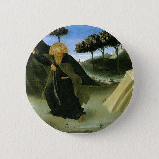 Fra Angelico- St Anthony Tempted by a Lump of Gold Button