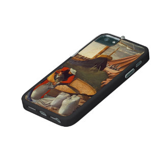 Fra Angelico- St. Nicholas saves the ship iPhone 5 Cases