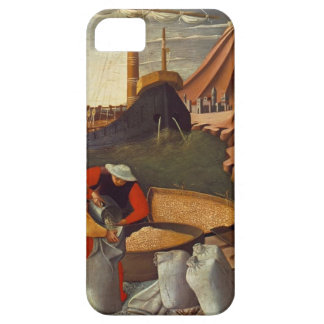 Fra Angelico- St. Nicholas saves the ship iPhone 5 Case