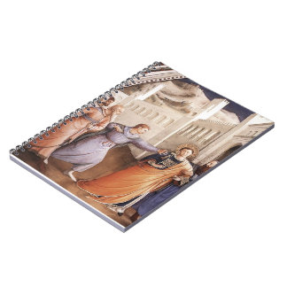 Fra Angelico- St Stephen llevado a su martirio Cuaderno