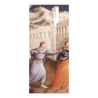 Fra Angelico- St Stephen llevado a su martirio Plantillas De Lonas