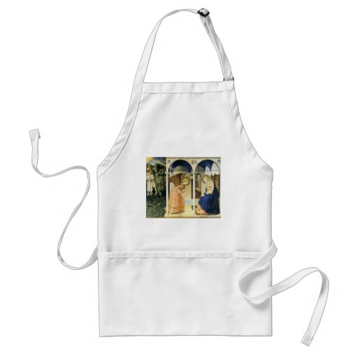 Fra Angelico The Annunciation Apron