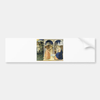 Fra Angelico The Annunciation Bumper Stickers