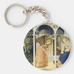 Fra Angelico The Annunciation Keychains