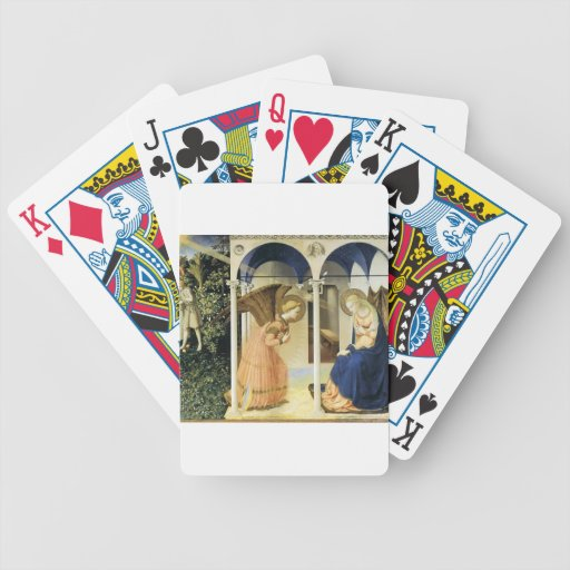 Fra Angelico The Annunciation Poker Deck
