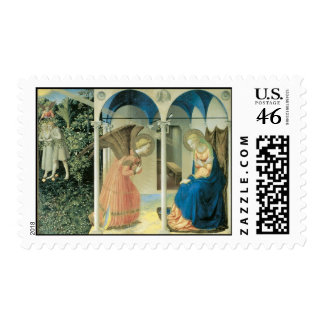 Fra Angelico - The Annunciation Postage Stamp