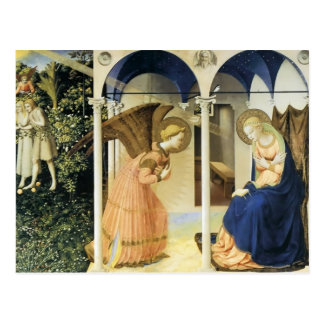 Fra Angelico The Annunciation Postcard