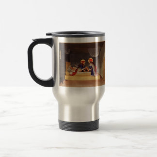 Fra Angelico- The Healing of Justinian 15 Oz Stainless Steel Travel Mug