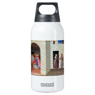 Fra Angelico- The Healing of Palladia 10 Oz Insulated SIGG Thermos Water Bottle