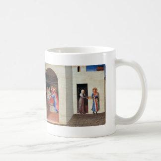 Fra Angelico- The Healing of Palladia Classic White Coffee Mug