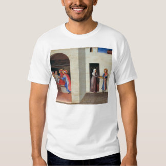 Fra Angelico- The Healing of Palladia Shirts