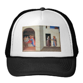 Fra Angelico- The Healing of Palladia Trucker Hat