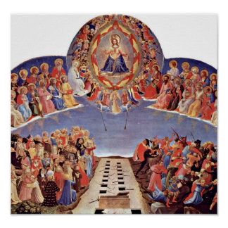Fra Angelico - The Last Judgement Poster