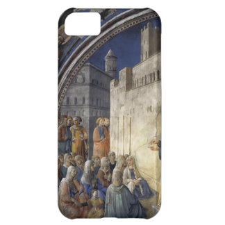 Fra Angelico- The Sermon of St. Stephen iPhone 5C Cases