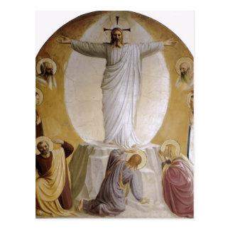 Fra Angelico- Transfiguration Postcard