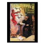 Fra Diavolo - The Great Magician Postcard
