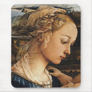 Fra Filippo Lippi and Madonna Mouse Pad